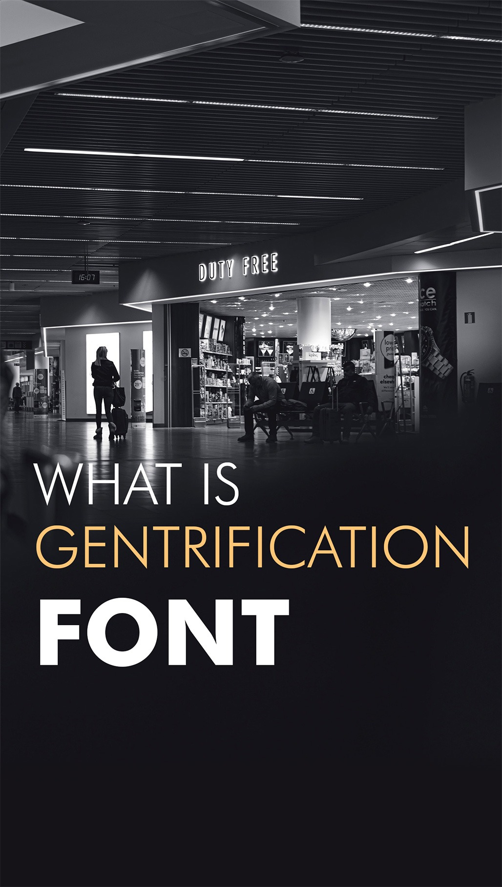 gratification font